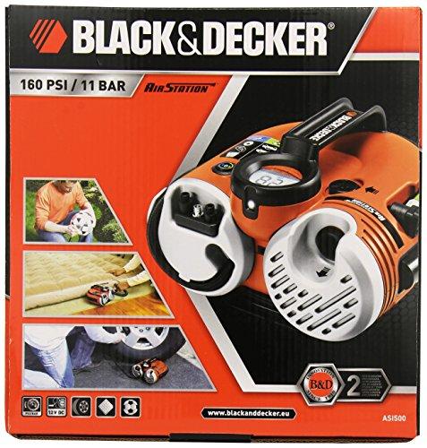 Black und Decker ASI500 Akku Kompressor - 7