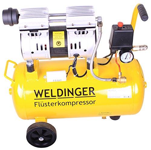 WELDINGER Flüsterkompressor FK90 ölfrei 25 Liter