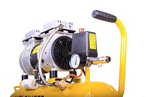 WELDINGER Flüsterkompressor FK90 ölfrei 25 Liter - 3