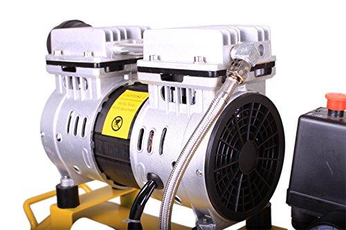 WELDINGER Flüsterkompressor FK90 ölfrei 25 Liter - 4
