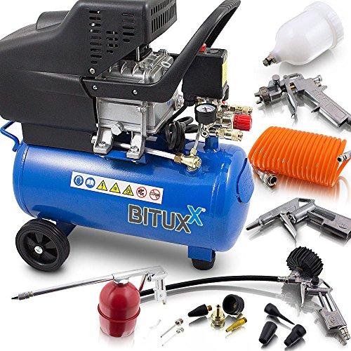BITUXX® Druckluftkompressor 24 Liter