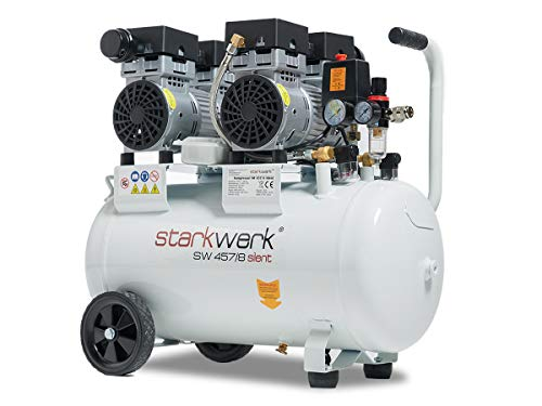 Starkwerk SW 457/8 Ölfrei 50L Kessel Flüsterkompressor