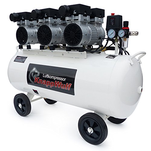 KnappWulf KW2100 Kompressor / 100 Liter / 8 Bar / Ölfrei / Silent