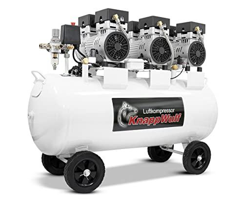 KnappWulf KW2100 Kompressor / 100 Liter / 8 Bar / Ölfrei / Silent - 3