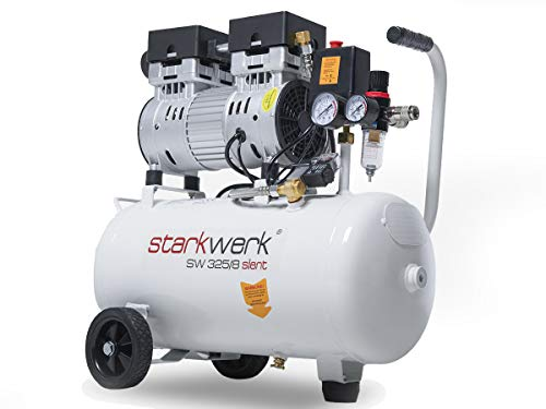 Starkwerk SW 325/8 Flüster Silent Druckluft Kompressor Ölfrei