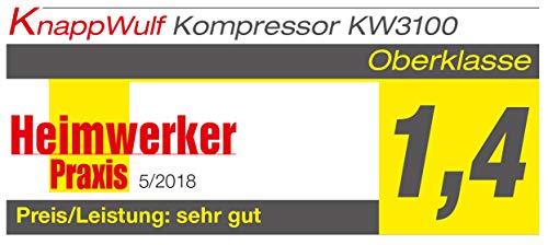 KnappWulf KW3100 – 100L – 250L/min – 10bar - 4