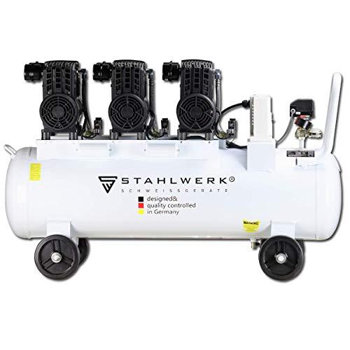 STAHLWERK Druckluft Flüsterkompressor ST 708 pro