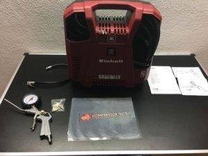 Einhell Kompressor TH-AC 190 Kit Test