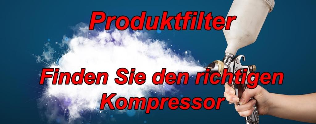 Produkfilter-Kompressor-test