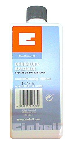 Einhell Spezialöl passend für Druckluftwerkzeuge (Inhalt 500 ml)