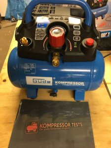 Güde Kompressor AIRPOWER 190/08/6 Kompressor Test