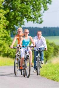 Fahrrad Kompressor - Radfahren mit der Familie
