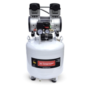 1500W 2PS Flüster - Kompressor Druckluftkompressor 60dB leise ölfrei IMPLOTEX