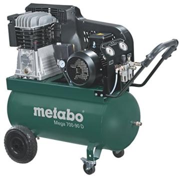 Metabo Mega Druckluftkompressor 700-90 D Kompressor, 601542000