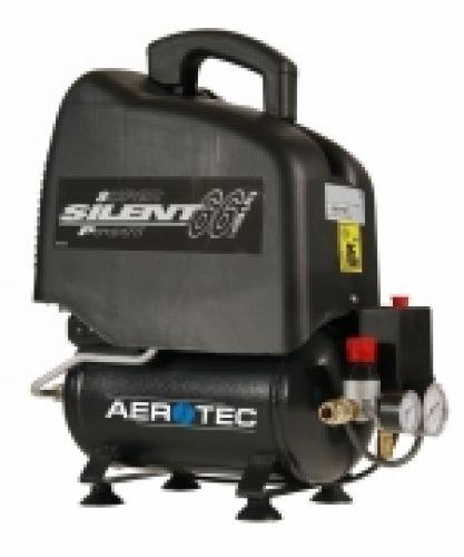 aerotec vento silent 6 druckluftkompressor lfrei 6 liter. Black Bedroom Furniture Sets. Home Design Ideas