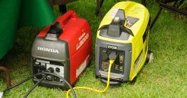 Diesel und Benzin Notstromaggregat - Stromerzeuger