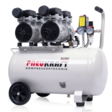 Kompressor 50L Flüsterkompressor Pneukraft Luftkompressor Druckluft Ölfrei Leise