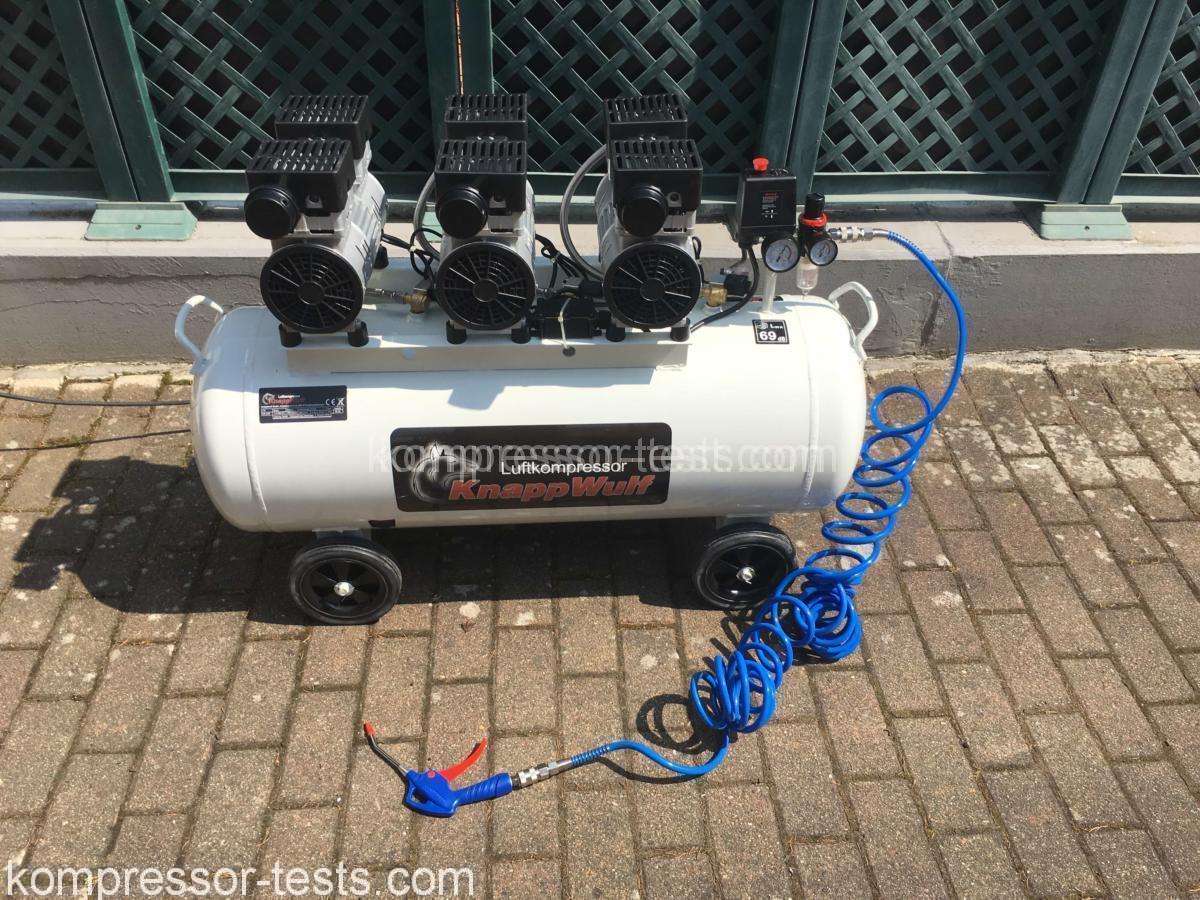 Kompressor ölfrei Test : knappwulf kw2100 kompressor 100 liter 8 bar lfrei silent vergleich g nstig ~ Fotosdekora.club Haus und Dekorationen