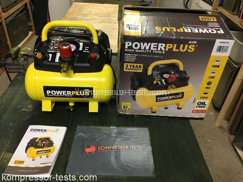 powerplus kompressor powx1721 vor u nachteile test. Black Bedroom Furniture Sets. Home Design Ideas