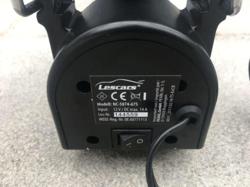 Lescars Mini Luftkompressor (10)