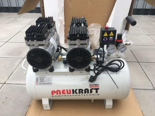 Pneukraft 50L Fluesterkompressor (2)
