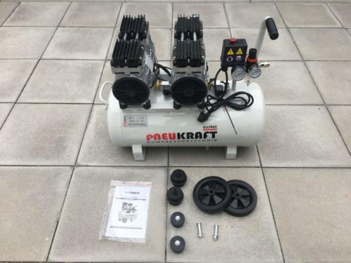 Pneukraft 50L Fluesterkompressor (7)
