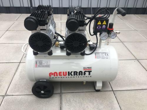Pneukraft 50L Fluesterkompressor (8)