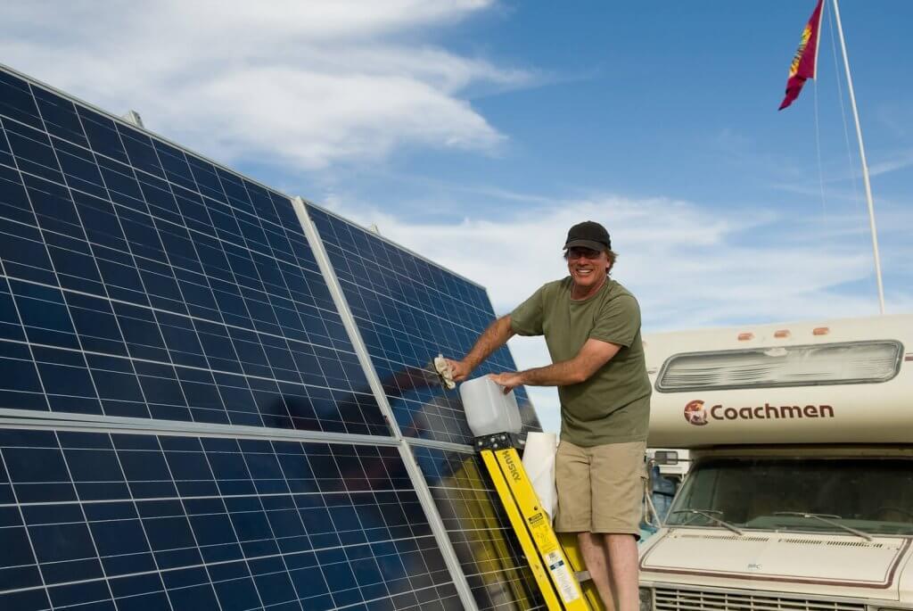 Solaranlage Reinigen - PV Anlage